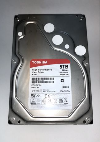 "HDD TOSHIBA X300 5TB 3,5"" 7200rpm"