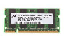 Memorie Laptop Micron 2GB PC2-6400S mt1ghtf25664hy