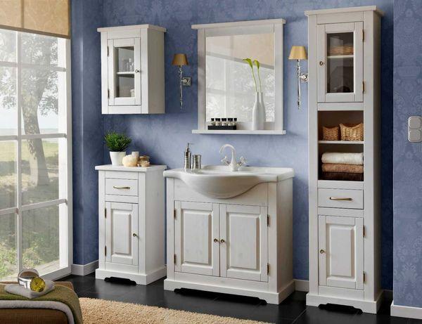 Set mobilier baie Complet Romance, Masca 80 Cm