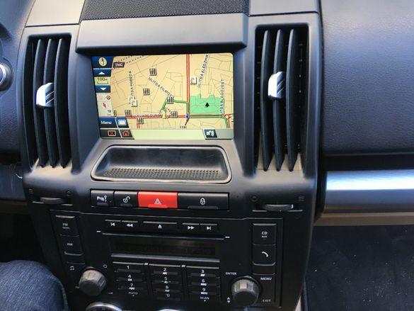 2018гд. Навигационен диск Land Rover Range Rove FREELANDER 2 Навигация