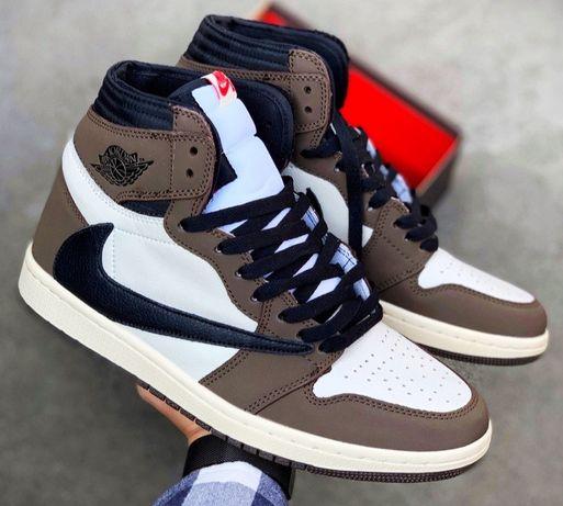 Nike. Кроссовки. Air Jordan Travis Scott