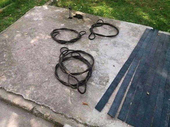 Стоманени въжета за теглене