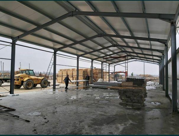 Vând hale metalice din materiale noi asiguram transport și montaj rog