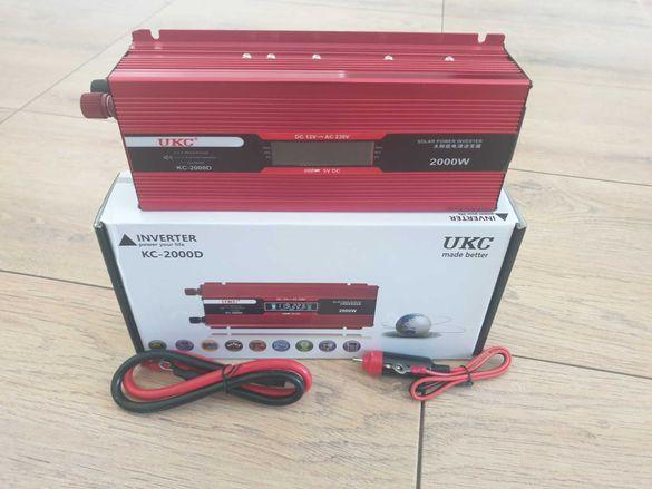 Инвертор  2000 w,1000w,500w,12v или 24v -220 v