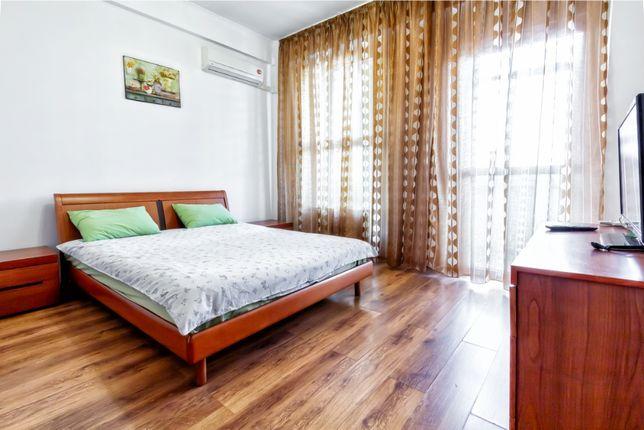 Уютная 1-комнатная в ЖК Керемет в центре Алматы