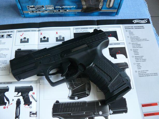 Pistol Airsoft WALTHER P99 DAO,CO2,GBB,Produs Umarex Cu Licenta,Nou,