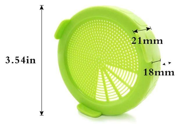 2bucati x capac pentru germinat borcan germinator
