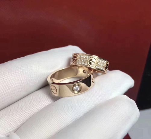 Позлатени пръстени Cartier - 750 / 18K