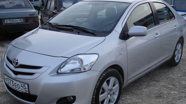 бампер/фара/фонарь/капот на Toyota Yaris Sedan/Тойота Ярис Седан 07-11