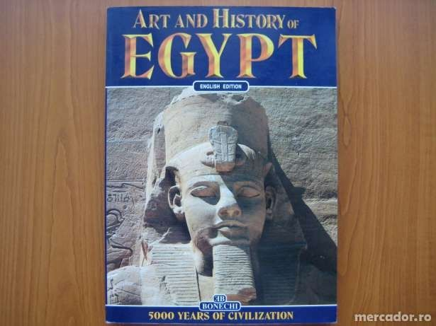 Art and History of Egypt - Alberto Carpiceci