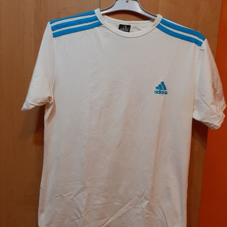 Tricouri adidas mr m unul alb si un roșu material cu elastan