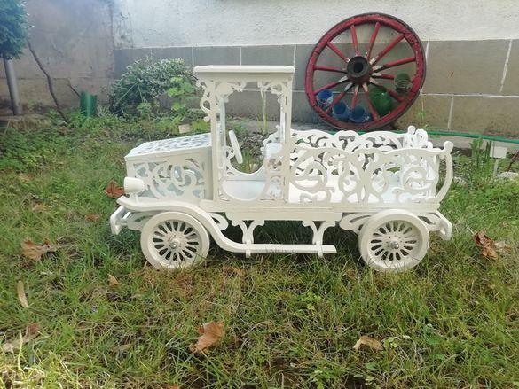 Декоративен ретро камион