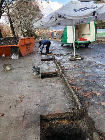 къртачни услуги и изкопи с мини багер