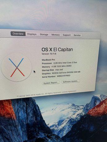MacBook Pro 13 Inch 2009 pentru componente