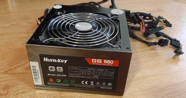 Блок питаня huntkey GS550,550W для игрового системника