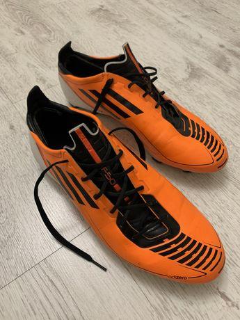 Футбольные бутсы adidas adizero f50 fg u44291. Размер 46