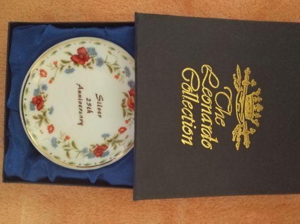 The Leonardo Colection юбилейна чинийка от порцелан