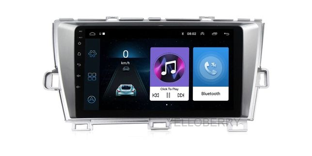 Navigatie Prius 2 si 3 Android 10 , GPS. WiFi, 2USB; Bluetooth,GPS