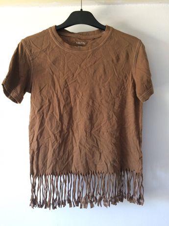 Дамска тениска с ресни