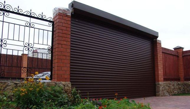 Usi De Garaj Tip Rulou și Rulouri Exterioare Din Aluminiu