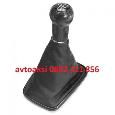 Топка+маншон Голф 4/Golf IV BORA 5ск. черна лайсна