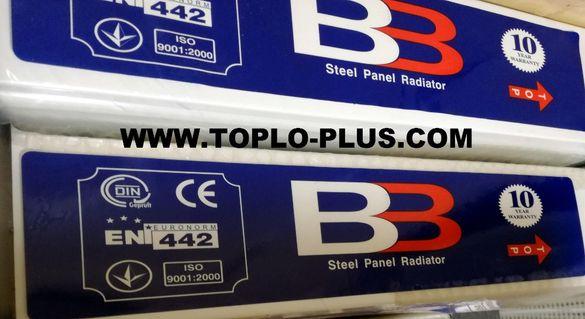 Нови панелни радиатори тип 22