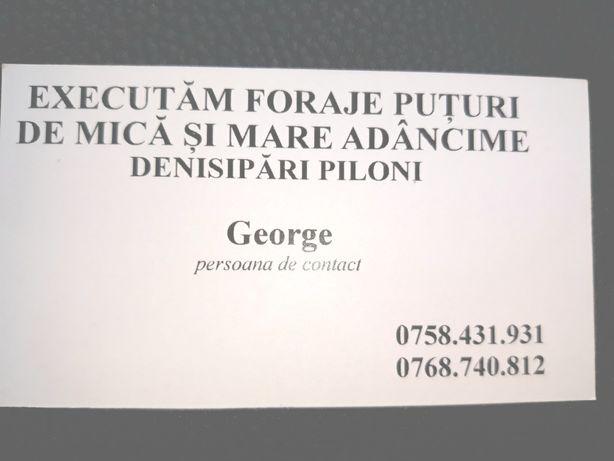 Puturi de apa Craiova,Filiasi,Turceni,Borascu,Argetoaia,Strehaia