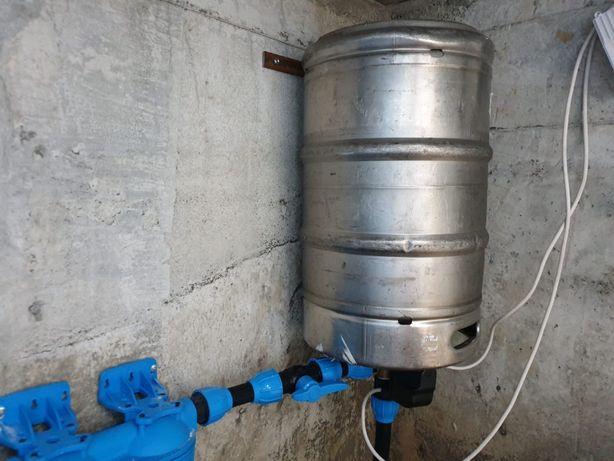 Bazin hidrofor butoi bere inox 50L