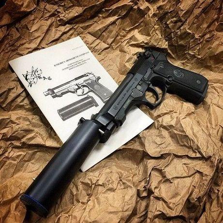 Editie LIMITATA!! Pistol Airsoft Beretta Modificat Foarte PUTERNIC