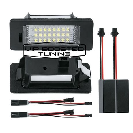 Set 2 lampi numar led canbus dedicate VW POLO 4USI Sedan 2010+