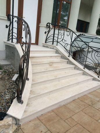 Trepte marmura, granit, travertin