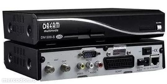 Dreambox 500S Radio Internet + Abonament Full Europa 1 An