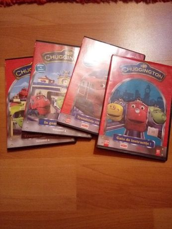 dvd trenulete CHUGGINGTON