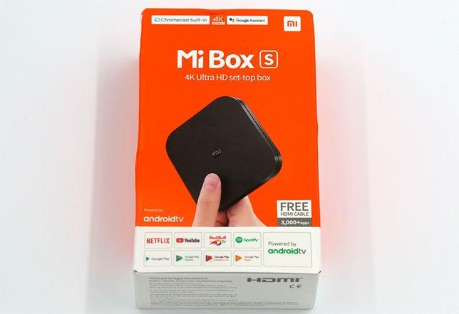 Андроид приставка Mi box s