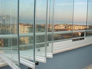 inchidere balcone , terasa , wintergarden , ghilotina sticla securizat