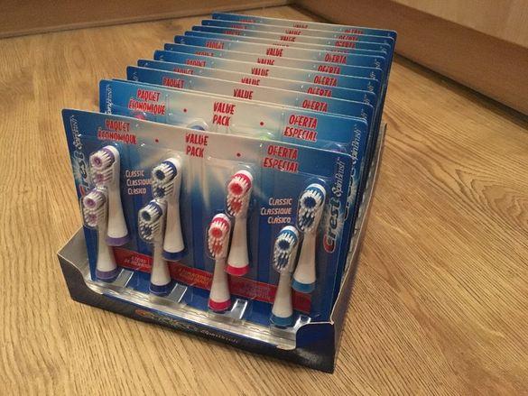 Глави за четки за зъби Crest spin brush