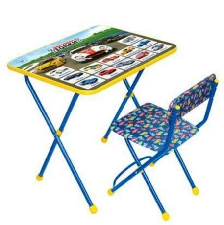 Наборы детской школьной мебели БОЛЬШИЕ ГОНКИ стол+мягкий стул