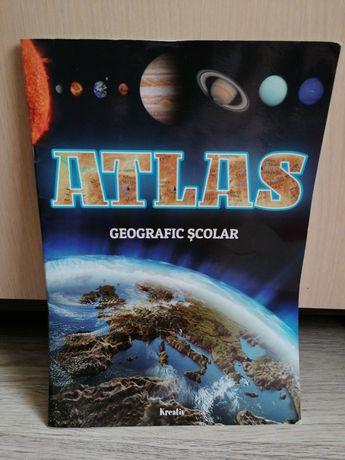Atlas geografic școlar, material BAC