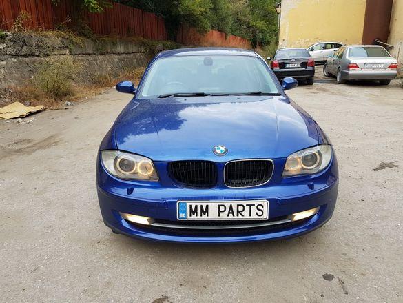 BMW E87 120d 177кс Facelift ръчка НА ЧАСТИ!