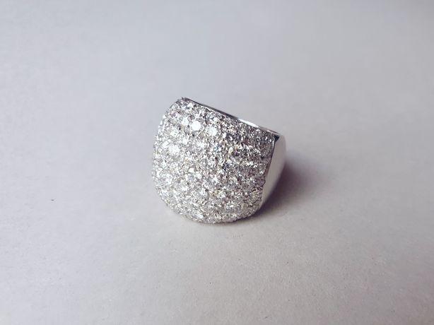 Inel aur 18K cu 5ct diamante naturale FG / VVS / certificat