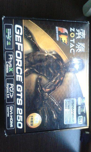 Placa video gaming Gefoce GTS512