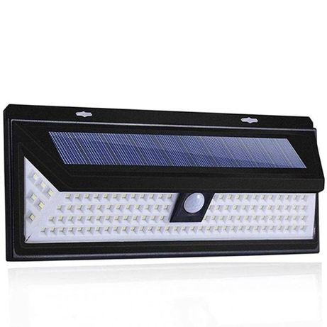 Lampa solara perete 118 led-uri cu senzor de miscare