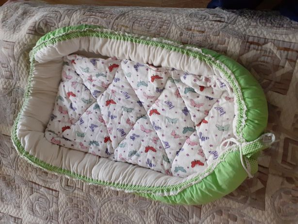 Baby nest babynest cuib de somn saltea cosulet ca nou impecabil