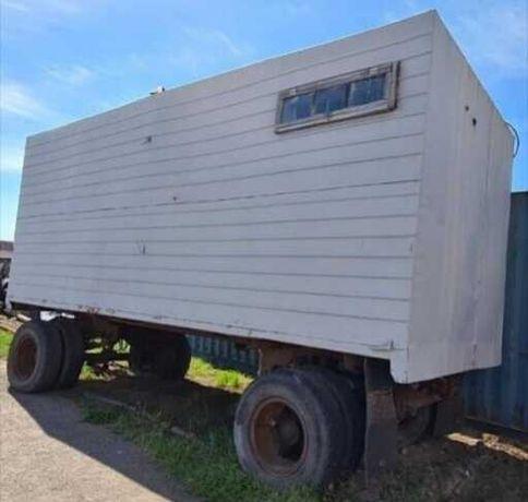 Жилой блок-модуль (контейнер-прорабская) на прицепе, г. Костанай.