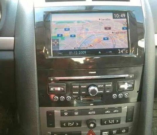 Диск навигация за ПЕЖО СИТРОЕН RT3 RT4 навигационни карти за България