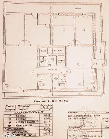 Apartament 3 camere Baneasa - Dobrogeanu Gherea , terasa 200 mp