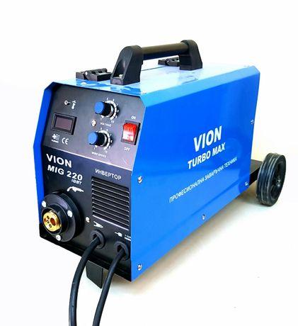 Телоподаващ инверторен апарат ВИОН MIG/CO2 - 220А. Електрожен