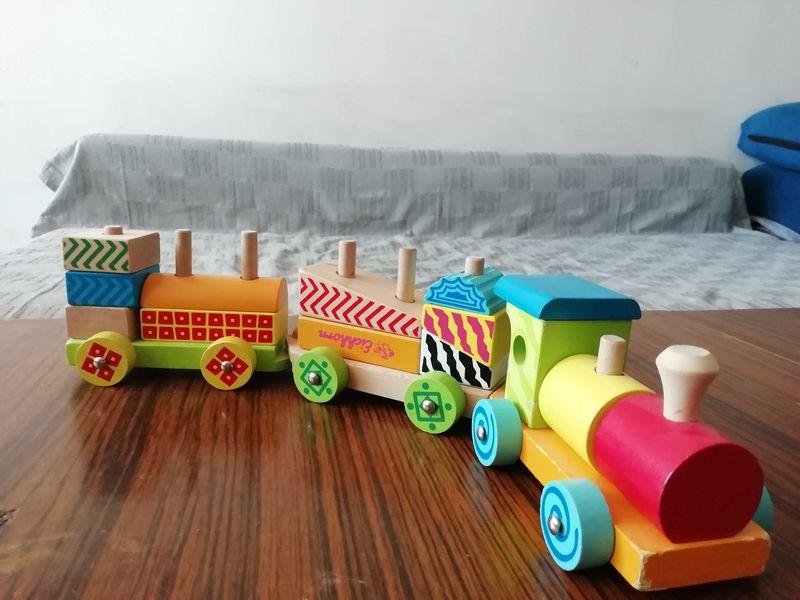 Дървено влакче за деца гр. Пловдив - image 1