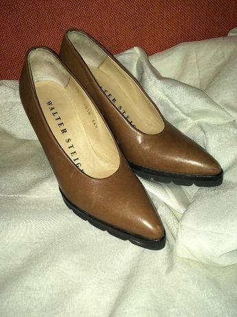 Pantofi cognac