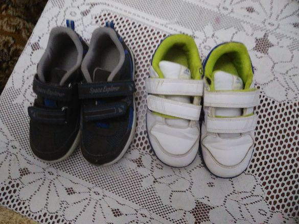 Лот от маратонки Адидас и обувки Лидл